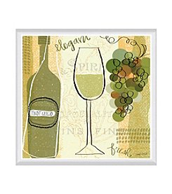 Greenleaf Art Vineyard Collection Pinot Grigio Framed Canvas Art