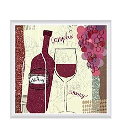 Greenleaf Art Vineyard Collection Shiraz Framed Canvas Art