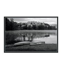 Greenleaf Art Morning Mist Rising Framed Canvas Art