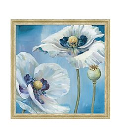 Greenleaf Art Blue Dance II Framed Canvas Art