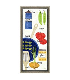 Greenleaf Art Cooking It Framed Canvas Art
