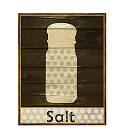 Greenleaf Art Salt on Wood Framed Canvas Art