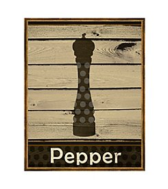 Greenleaf Art Pepper on Wood Framed Canvas Art