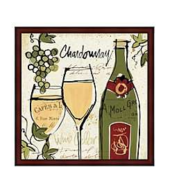 Greenleaf Art Wine Not Collection Chardonnay Framed Canvas Art