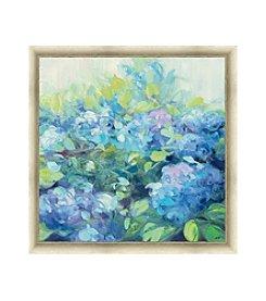 Greenleaf Art Bright Hydrangea II Framed Canvas Art