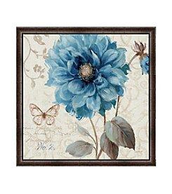 Greenleaf Art A Blue Note II Framed Canvas Art