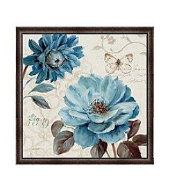 Greenleaf Art A Blue Note III Framed Canvas Art