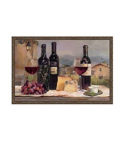 Greenleaf Art Villa Reds Framed Canvas Art