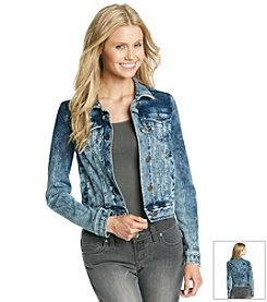 Celebrity Pink Acid Wash Soft Touch Denim Jacket