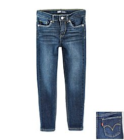 Levi's® Girls' 4-6X Medium Blue Denim Leggings