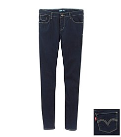 Levi's® Girls' 7-16 Dark Wash Skinny Jeans