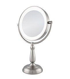 Zadro Dimmable Touch Ultra Bright Dual-Sided LED Lighted Vanity Mirror with Magnification