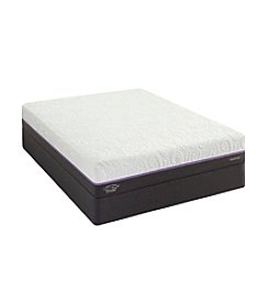 Sealy Posturepedic Optimum Radiance Gold Plush Memory Foam Mattress & Box Spring Set