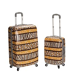 Rockland 2-pc. Animal ABS Upright Luggage Set