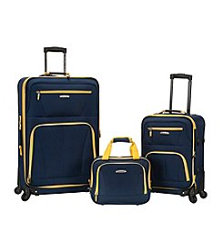 Rockland Pasadena 3-pc. Luggage Set
