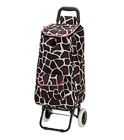 Rockland Santorini Rolling Shopping Tote