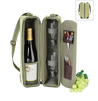 Picnic at Ascot Hamptons Wine Carrier for Two