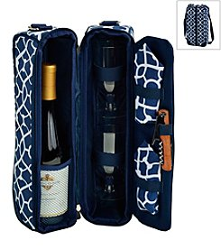 Picnic at Ascot Trellis Wine Carrier for Two