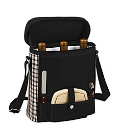 Picnic at Ascot Three Bottle Wine and Cheese Tote