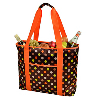 Picnic at Ascot Julia Dot Extra Large Insulated Tote