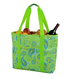 Picnic at Ascot Paisley Green Extra Large Insulated Tote