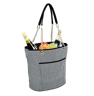Picnic at Ascot Houndstooth Fashion Cooler Tote