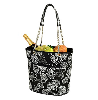 Picnic at Ascot Night Bloom Fashion Cooler Tote