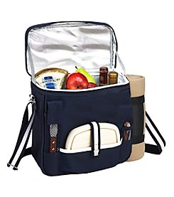 Picnic at Ascot Wine and Cheese Cooler Tote with Blanket