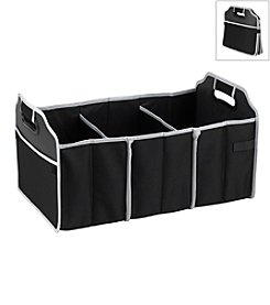 Picnic at Ascot Black Foldable Trunk Organizer