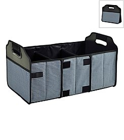 Picnic at Ascot Houndstooth Foldable Trunk Organizer