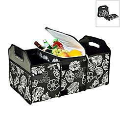 Picnic at Ascot Night Bloom Trunk Organizer and Cooler Set