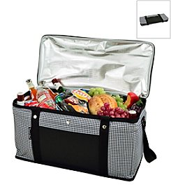 Picnic at Ascot Houndstooth Large Trunk Cooler