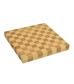 Picnic at Ascot Checkered Chop Board