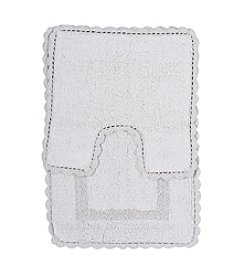 Feizy® Vintage 2-pc. Crochet Bath Mat
