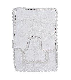 Feizy® Vintage 2-pc. Crochet Bath Mat