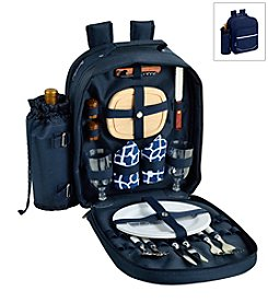 Picnic at Ascot Trellis Picnic Backpack for Two
