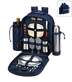 Picnic at Ascot Bold Coffee and Picnic Backpack for Two