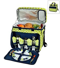 Picnic at Ascot Trellis Picnic Cooler for Four