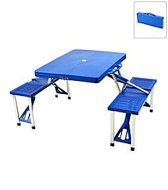 Picnic at Ascot Plastic Picnic Table Set