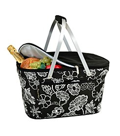 Picnic at Ascot Night Bloom Collapsible Insulated Basket