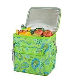 Picnic at Ascot Paisley Green Multi Purpose 24-Can Cooler