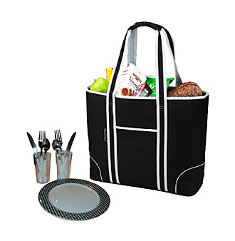 Picnic at Ascot Bold Insulated Picnic Tote for Two