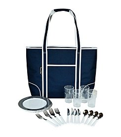 Picnic at Ascot Bold Insulated Picnic Tote for Four