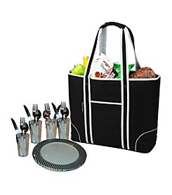 Picnic at Ascot Classic Insulated Picnic Tote for Four