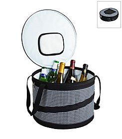 Picnic at Ascot Bold Houndstooth Pop-Up Cooler Tub