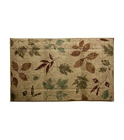 Bacova® Elegant Dimensions Lincoln Park Brown and Flower Accent Rug