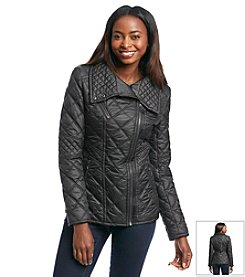 Marc New York Short Farrah Moto Quilted Jacket