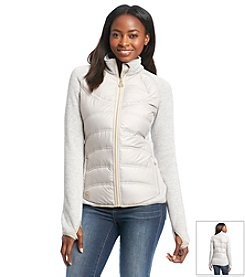 MICHAEL Michael Kors® Stand Collar Sweater With Packable Front Coat