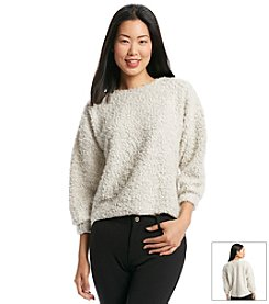 Chelsea & Theodore® Ivory Boucle Pullover Sweater