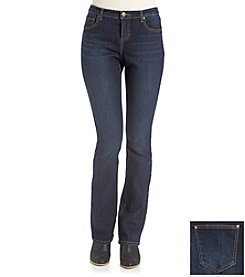 ruff hewn GREY Slim Boot Denim Jeans